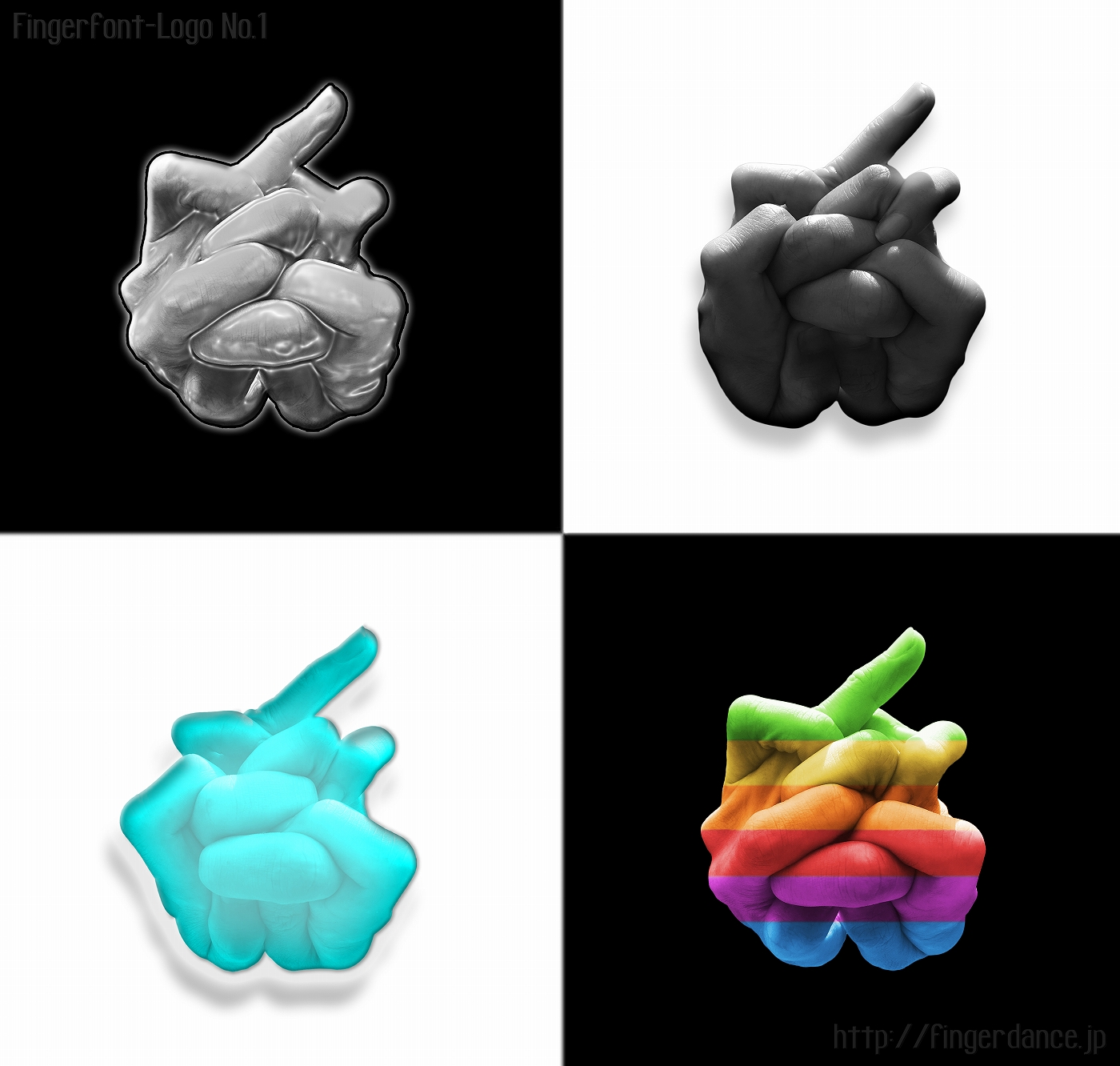 Apple-fingerhttp://fingerdance.jp/L/logohand アップル・フィンガーロゴハンド手指