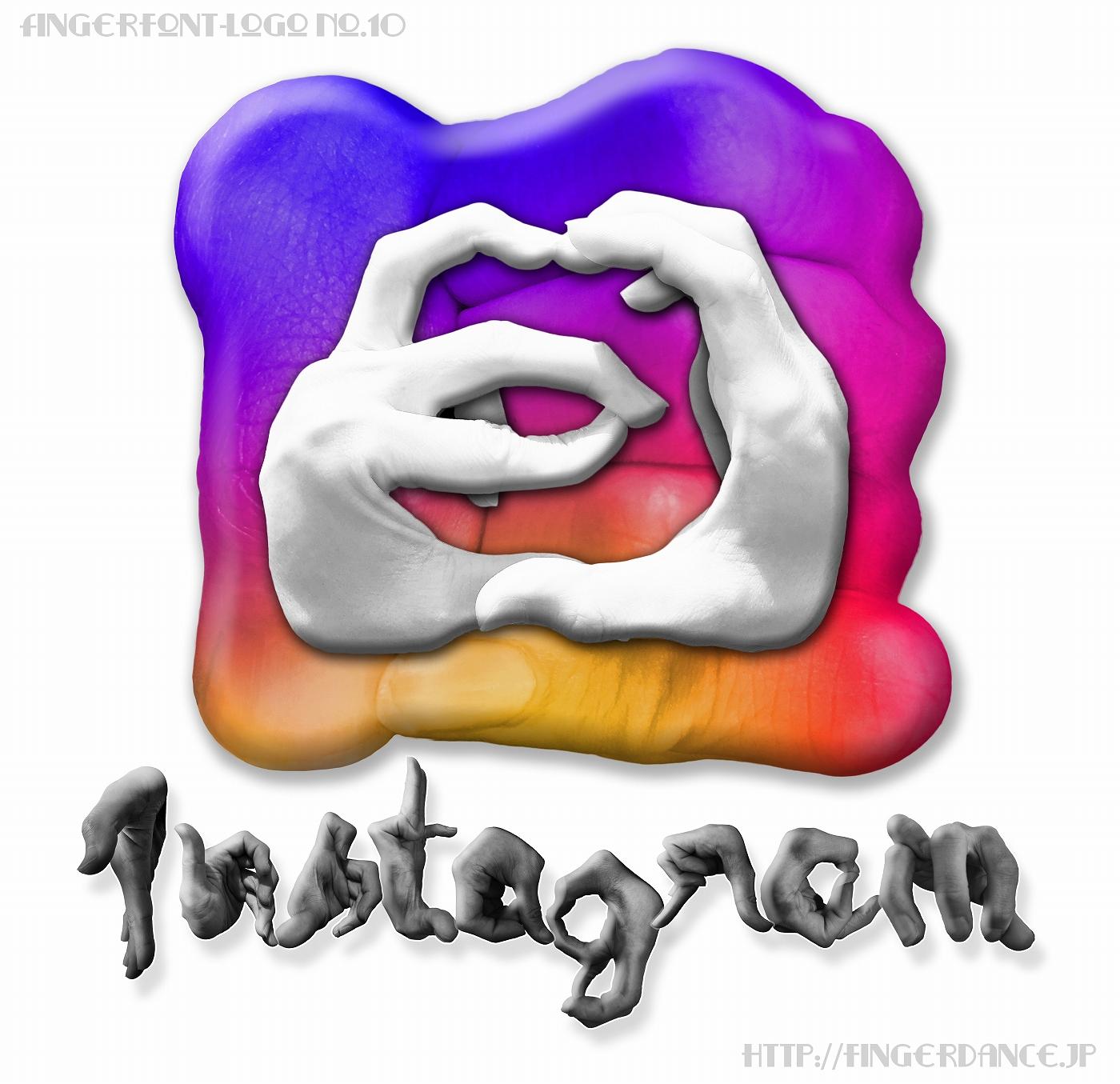 Instagram-fingerhttp://fingerdance.jp/L/logohand インスタグラム・フィンガーロゴハンド手指