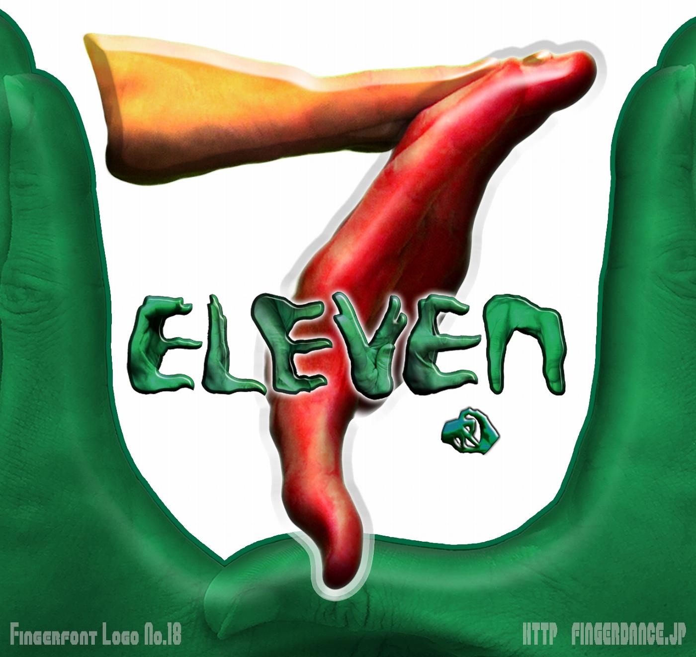 SevenEveben-fingerhttp://fingerdance.jp/L/logohand セブンイレブンフィンガーロゴハンド手指