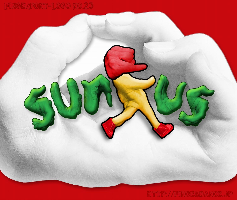 sunkus-fingerhttp://fingerdance.jp/L/logohand サンクスフィンガーロゴハンド手指