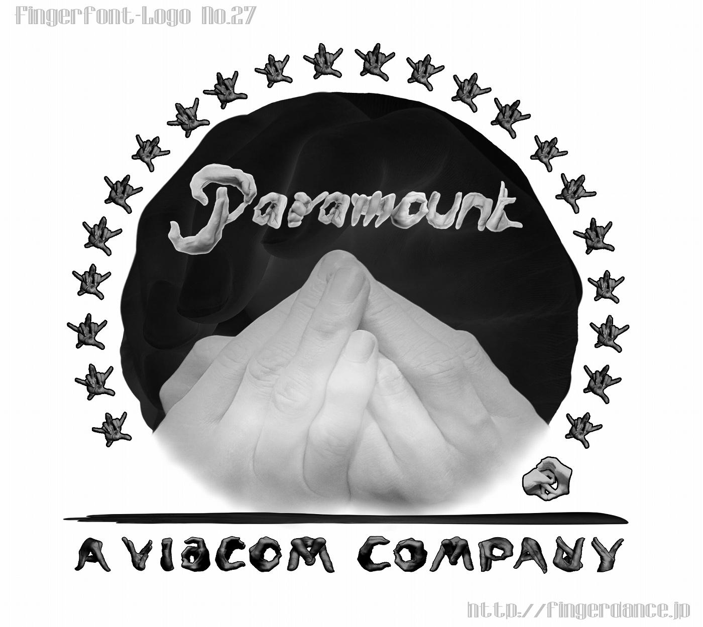 Paramount-fingerlogohand パラマウント映画フィンガーロゴハンド手指