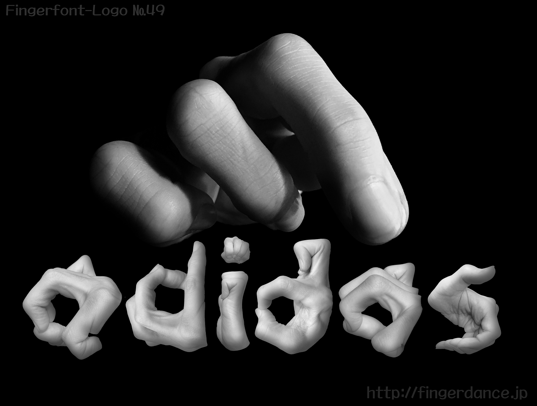 adidas-fingerhttp://fingerdance.jp/L/logohand アディダスフィンガーロゴハンド手指