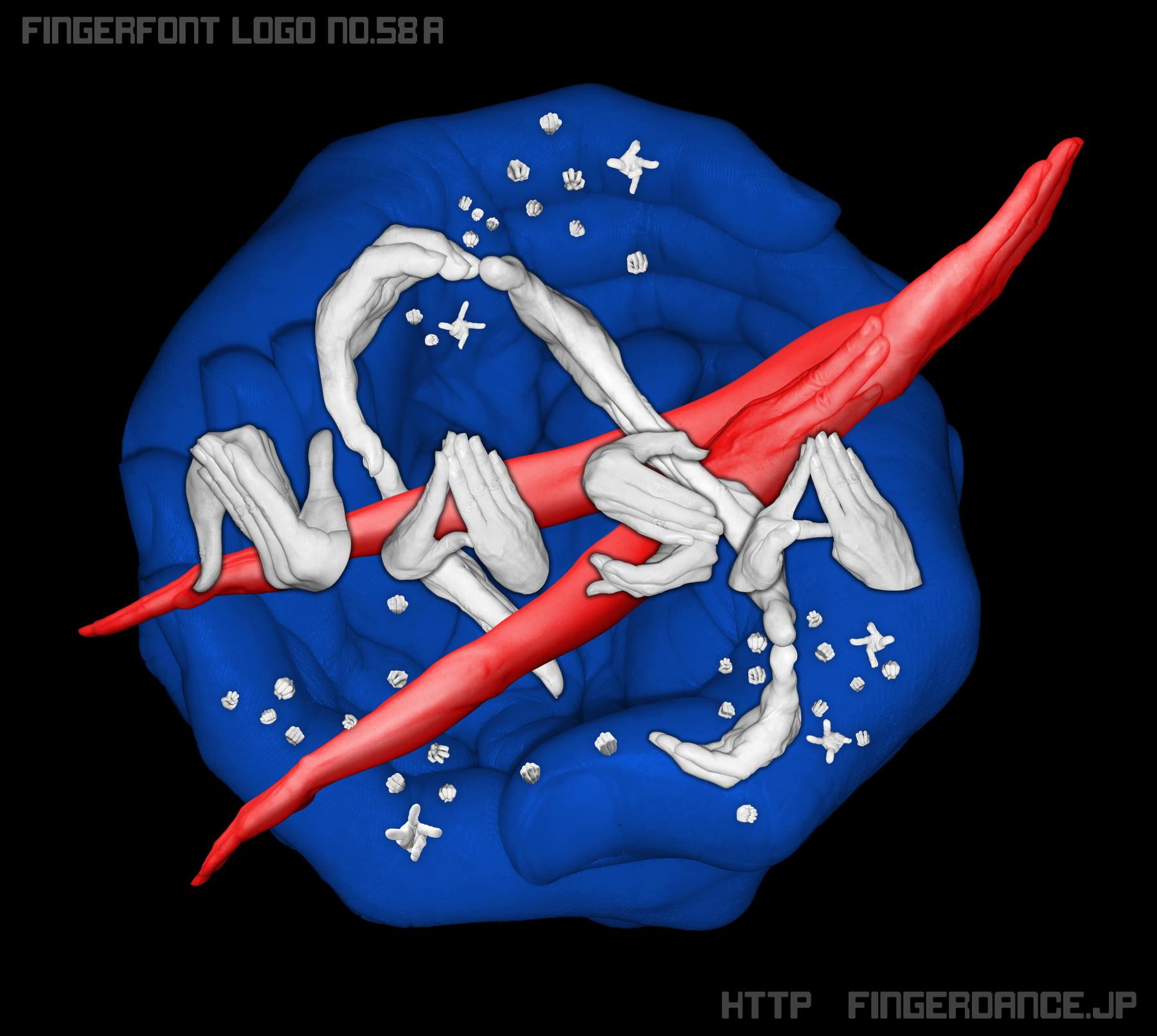NASA-ナサフィンガーロゴハンド 手指