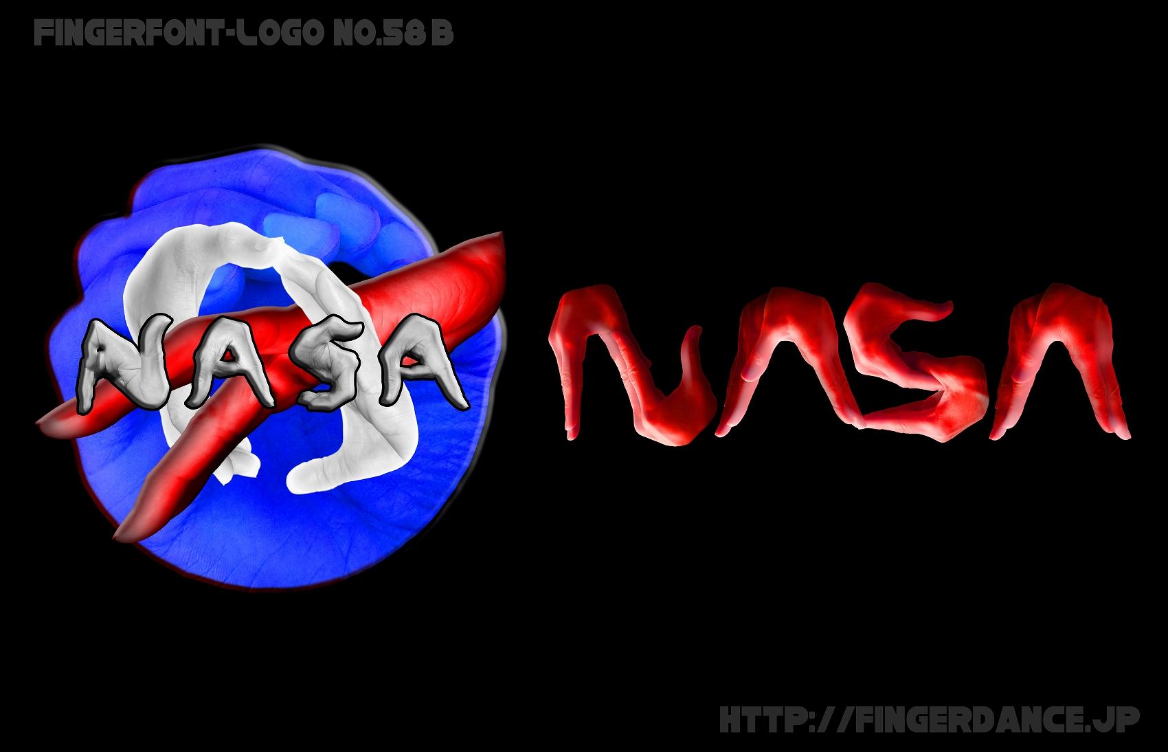 NASA-ナサフィンガーロゴハンド手指