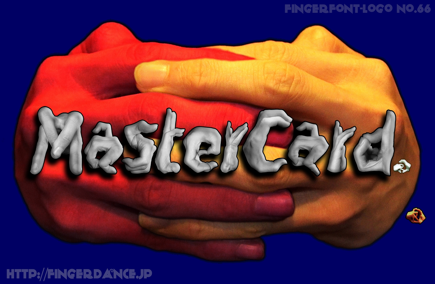 MasterCard-fingerlogohand マスターカードフィンガーロゴハンド手指