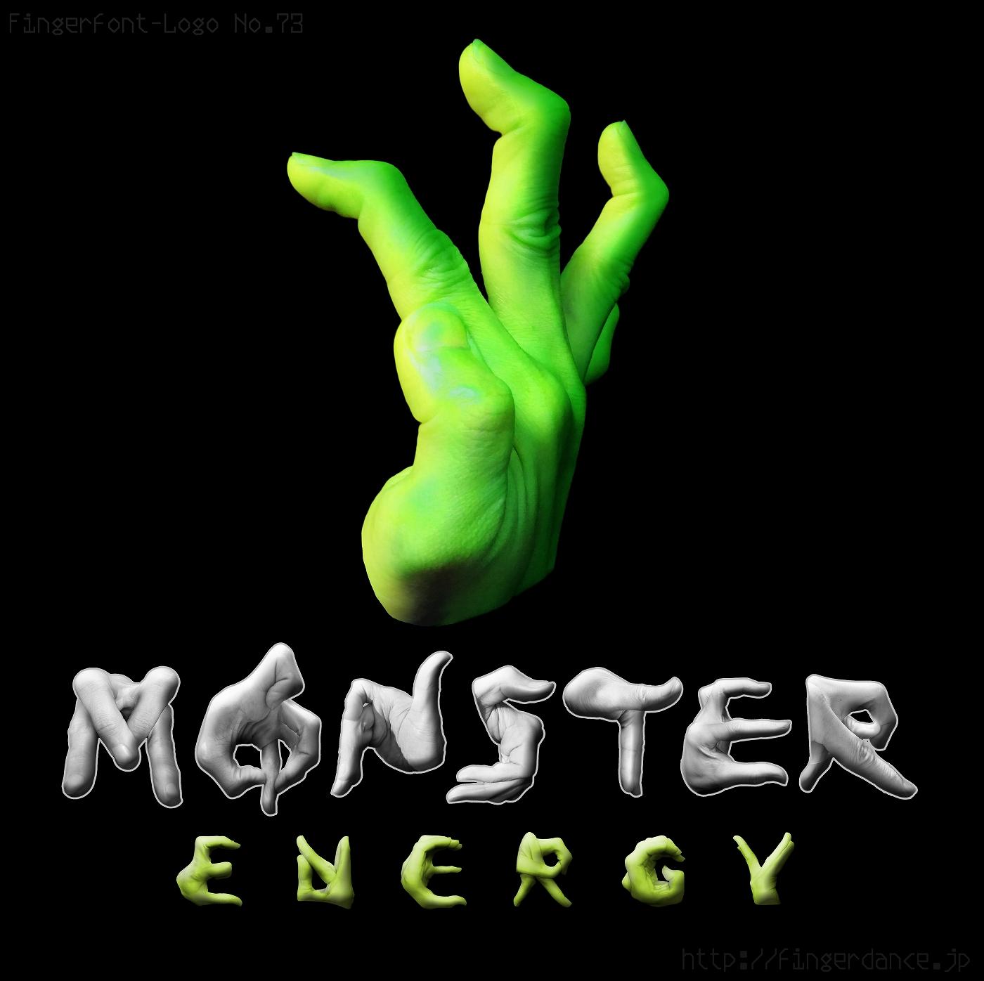 MONSTERENEGY-fingerhttp://fingerdance.jp/L/logohand モンスターエナジー・フィンガーロゴハンド手指