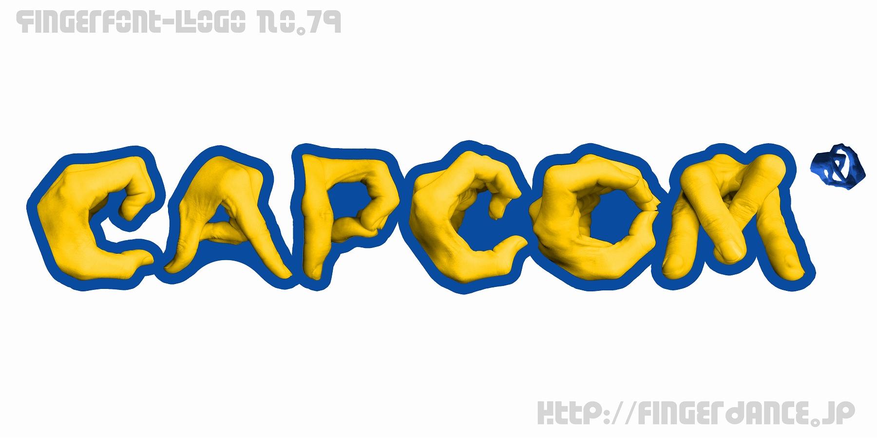 Capcom-fingerlogohand カプコン・フィンガーロゴハンド手指