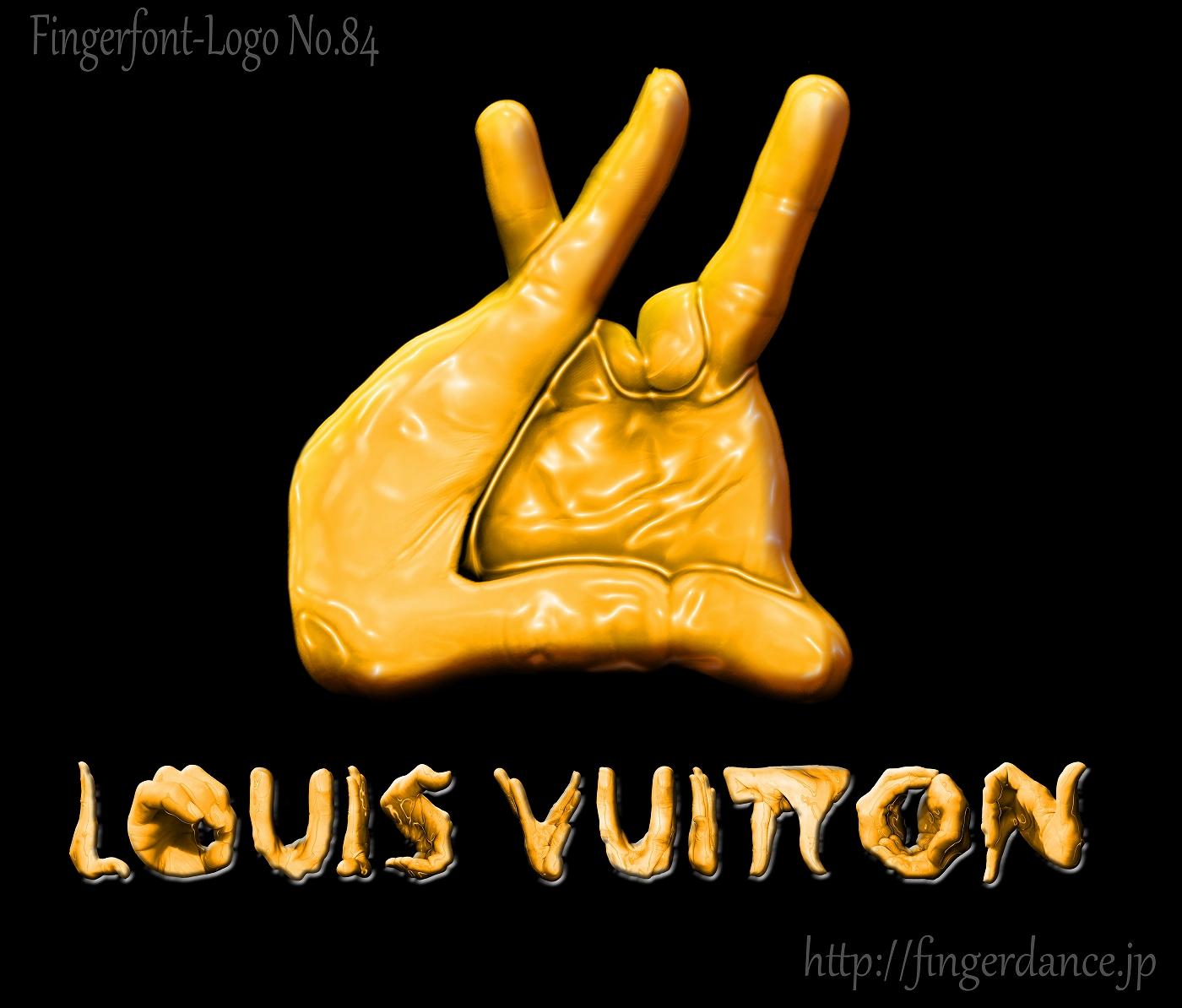 LouisVuitton-ルイヴィトン・フィンガーロゴハンド手指