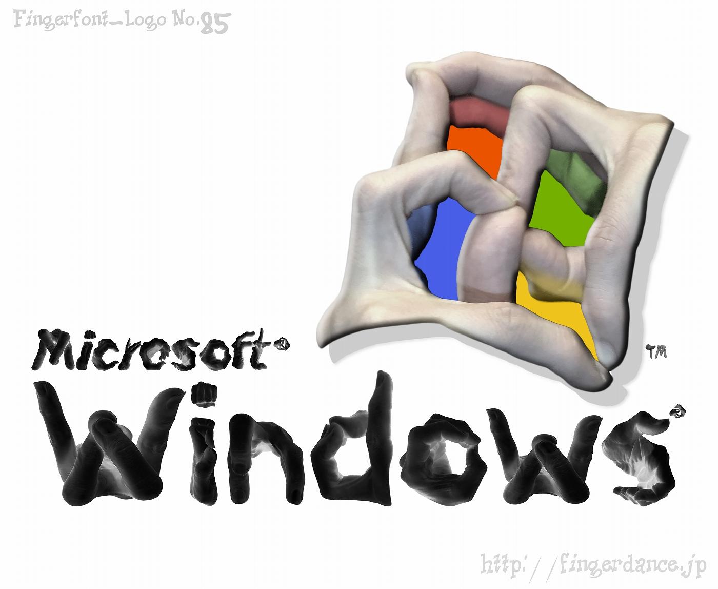 windows-fingerhttp://fingerdance.jp/L/logohand ウインドウズ・フィンガーロゴハンド手指